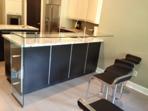 Custom Glass Countertop