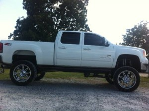 Chevy Truck Window Tint
